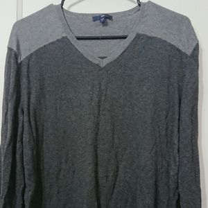 Mens two toned Sweater